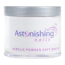 Astonishing Nails Acryl Powder Soft White 100gr