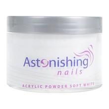 Astonishing Nails Acryl Powder Soft White 165gr