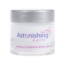 Astonishing Nails Acryl Powder Mega White 25gr