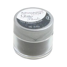 Astonishing Nails Glitter Acrylic #202 Liquorice Glaze