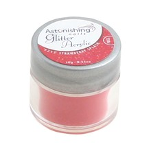 Astonishing Nails Glitter Acryl #215 Strawberry Splash