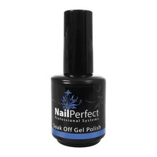 Nail Perfect Soak Off Gel Polish #118 Swaths of Blue
