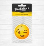 TBU car Lufterfrischer von Freshations | Emoticon - Wink | Rose