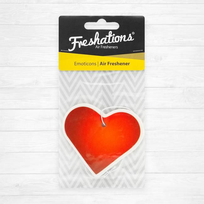 TBU car Lufterfrischer von Freshations | Emoticon - Heart | Lavendel