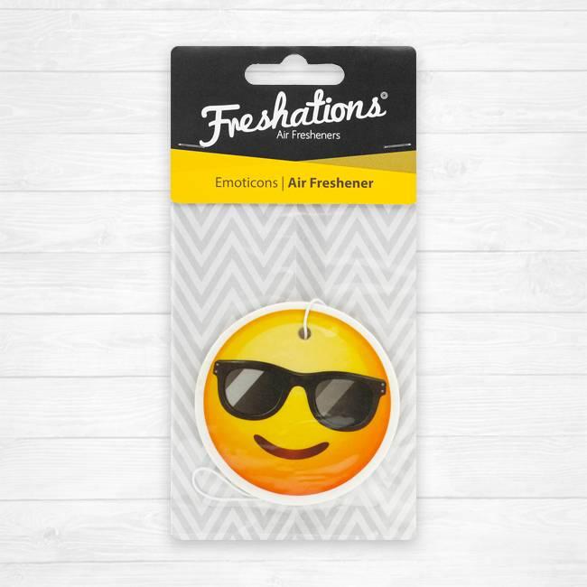 Ambientadores Freshations | Emoticon - Sunglasses | New Car