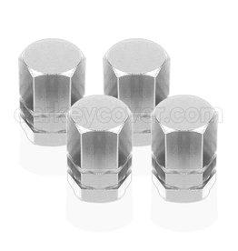 Casquillos de válvulas para neumáticos - Plata (universal)