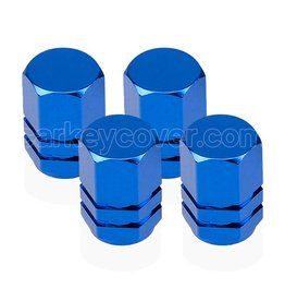 Tire valve caps - Blue (universal)