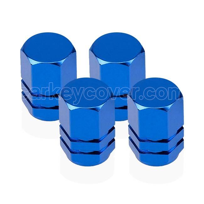 Ventieldopjes - Blauw (universal)