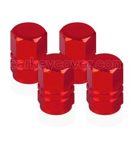 Tire valve caps - Red (universal)