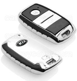 Kia Car key cover - Chrome