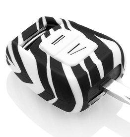 Vauxhall Car key cover - Zebra