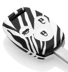 TBU car Honda Sleutel Cover - Zebra