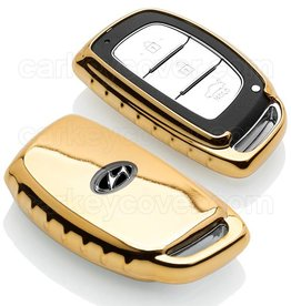TBU car Hyundai Car key cover - Gold