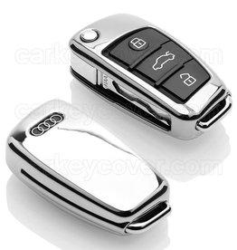 TBU car Audi Funda Carcasa llave - Cromo plateado