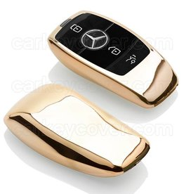 Mercedes Capa TPU Chave - Ouro