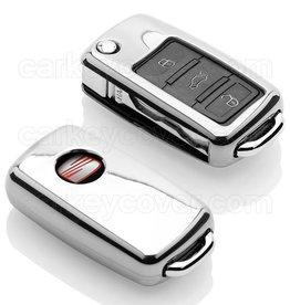 Seat Car key cover - Chrome