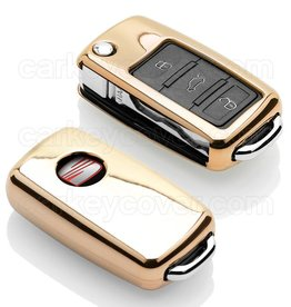 Seat Car key cover - Gold