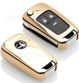TBU car Vauxhall Funda Carcasa llave - Oro