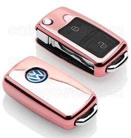 TBU car Volkswagen Funda Carcasa llave - Oro rosa