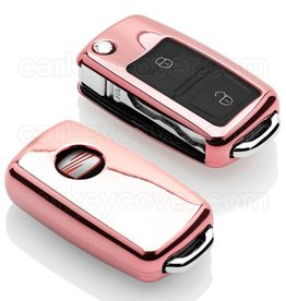 TBU car Seat Car key cover - Rose Gold