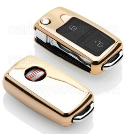 TBU car Seat Car key cover - Gold