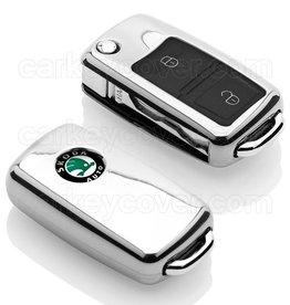 Skoda Car key cover - Chrome (Special)