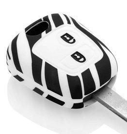 Citroën Housse de protection clé - Zèbre