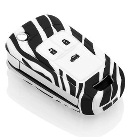 Vauxhall Schlüssel Hülle - Zebra