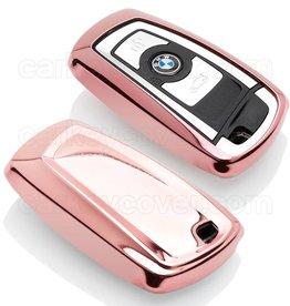 BMW Capa TPU Chave - Rosa ouro