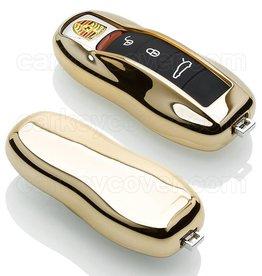 Porsche Car key cover - Gold