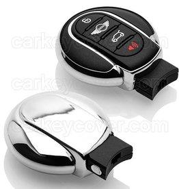 TBU car Mini Schlüsselhülle - Silber Chrom