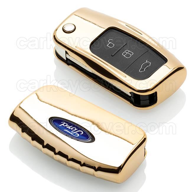 Ford Schlüssel Hülle - Gold (Special)
