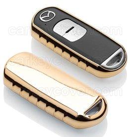 TBU car Mazda Funda Carcasa llave - Oro