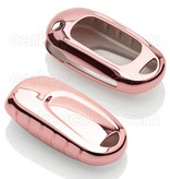 Opel Car key cover - TPU Protective Remote Key Shell FOB Case Cover - Rose Gold