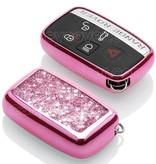 Range Rover Housse de protection clé - Rose Liquid glitters (Special)