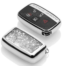 Range Rover Car key cover - Silver Liquid glitters (Special)