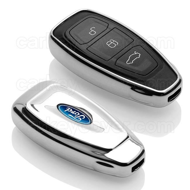 Ford Housse de protection clé - Chrome (Special)