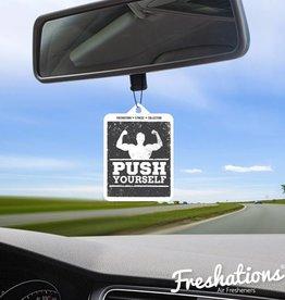 TBU car Ambientadores Fitness - Push Yourself | New Car