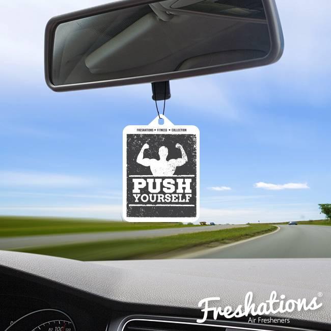 Lufterfrischer von Freshations | Fitness Collection - Push Yourself | New Car