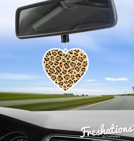TBU car Air freshener Heart - Leopard |  Fruit Cocktail