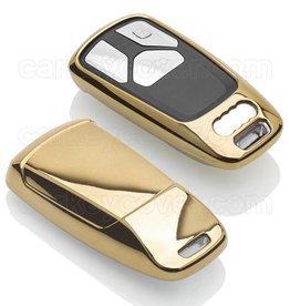 Audi Capa TPU Chave - Ouro