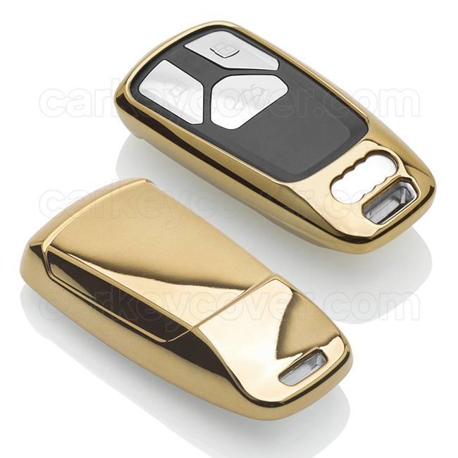 Audi Housse de protection clé - Gold (Special)