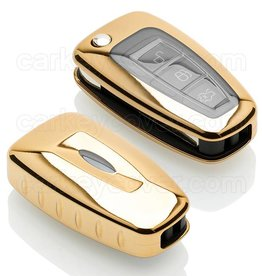 Ford Car key cover - Gold