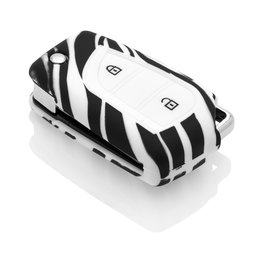 Toyota Capa Silicone Chave - Zebra