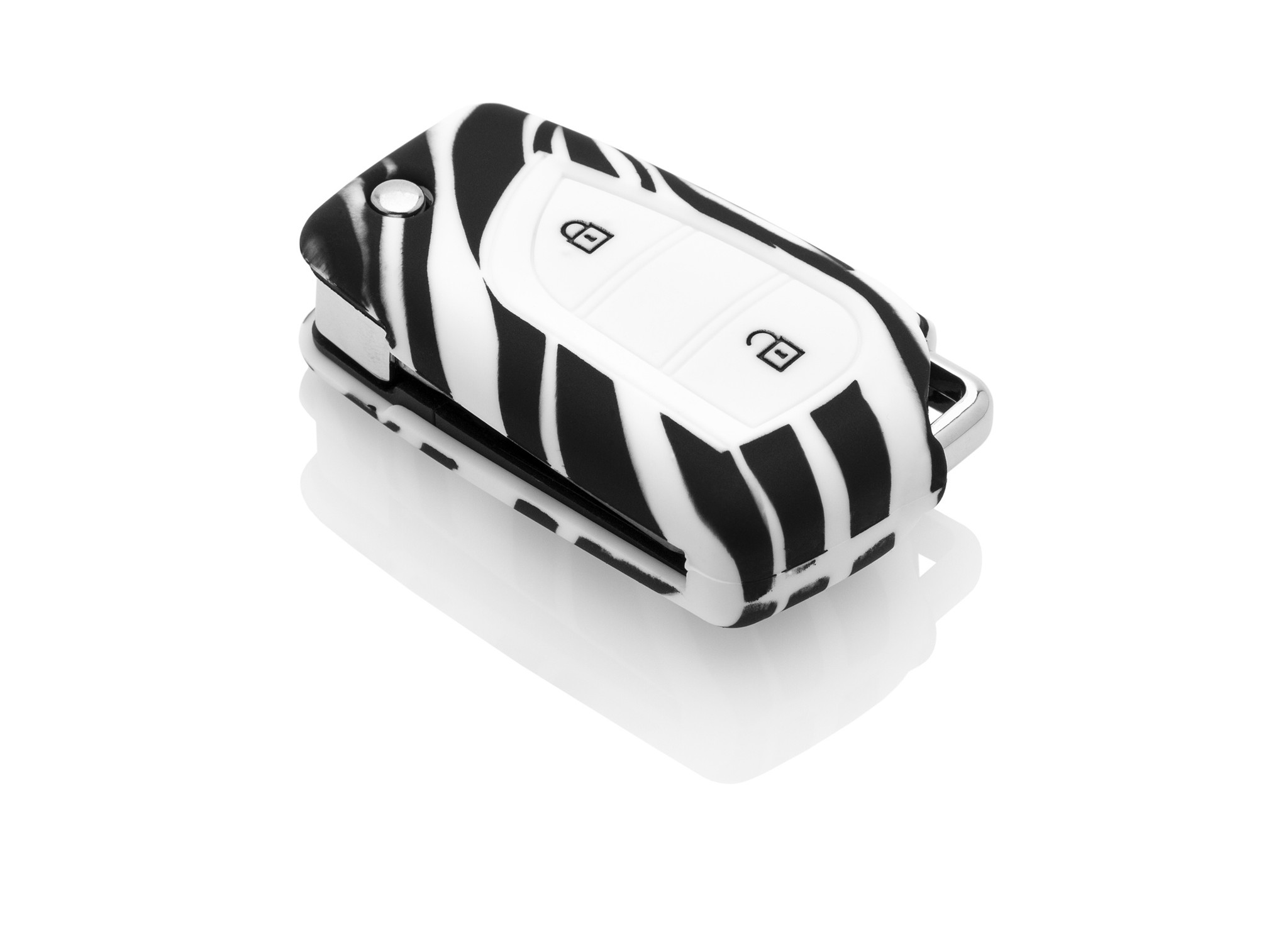 Toyota Car key cover - Zebra
