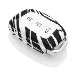 TBU car Hyundai Sleutel Cover - Zebra