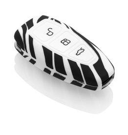 TBU car Ford Sleutel Cover - Zebra