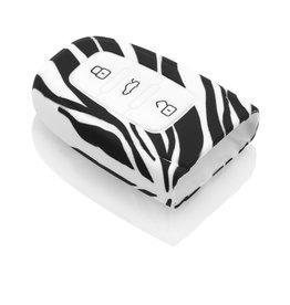TBU car Audi Car key cover - Zebra