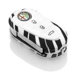 Alfa Romeo Car key cover - Zebra