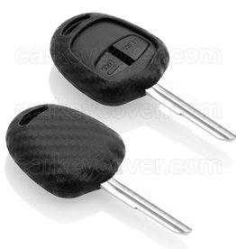 Mitsubishi Schlüssel Hülle - Carbon
